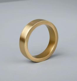 """Gold Circle Napkin Ring 0.25 x 1.75"""""""