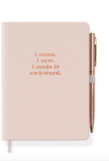 """Awkward Journal with Pen 4.5"""" x 6.5"""""""