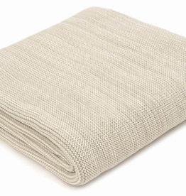 "Pale Whisper Marled Cotton Throw 50"" x 60"""