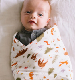 Muslin Swaddle - Forest Friends