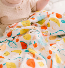 Muslin Swaddle - Cutie Fruits