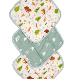 Washcloth 3 Piece Set - Forest Friends