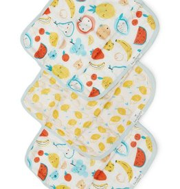Washcloth 3 Piece Set - Cutie Fruits