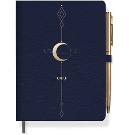 """Moon Tattoo Journal with Pen 4.5"""" x 6.5"""""""