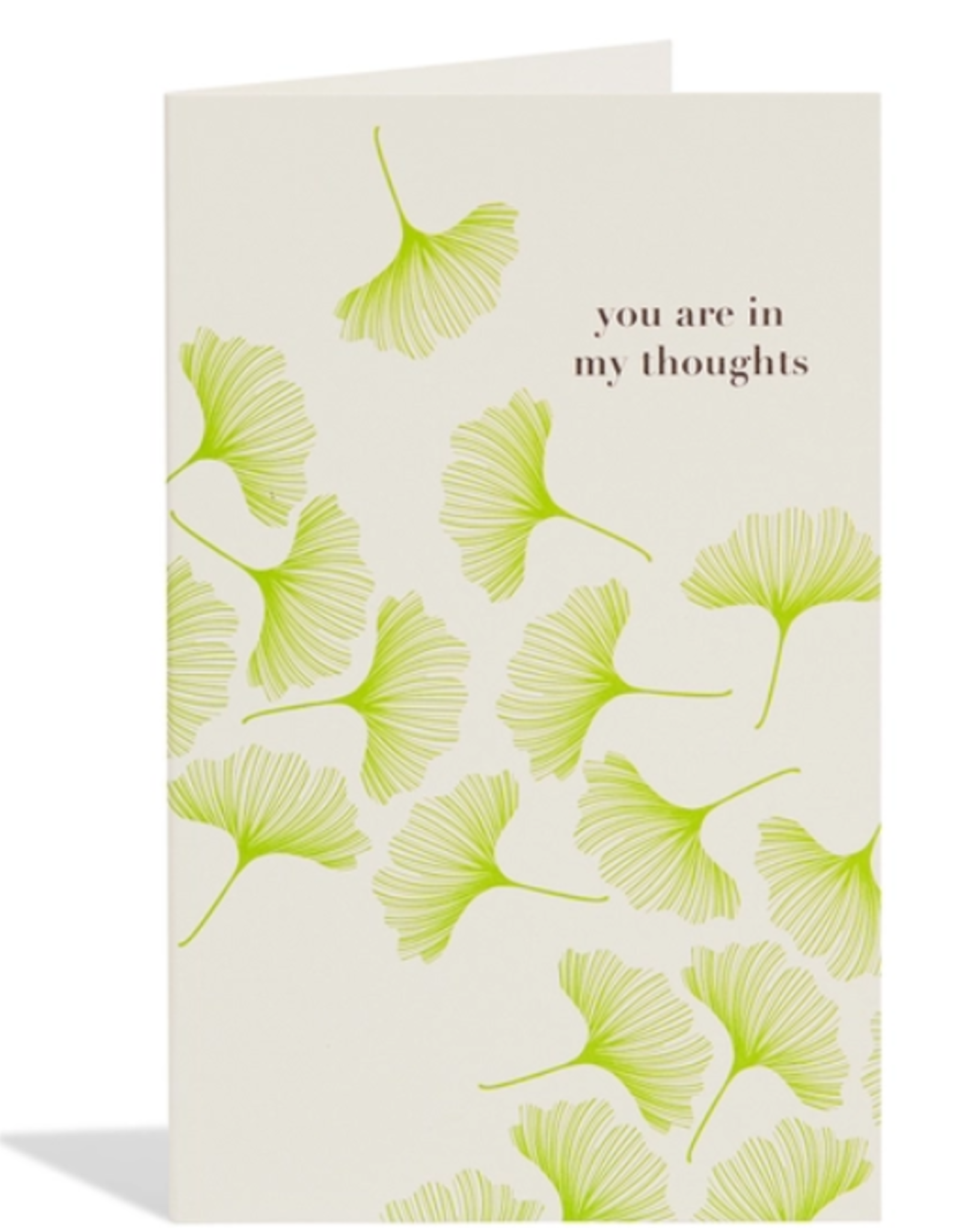 Sympathy Ginko Card