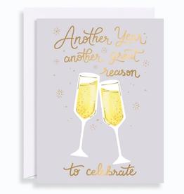 Champagne Celebrate Card