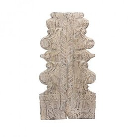 Small Architectural Salvage Wall Crest Approx. 8'' x 2'' x 16½''