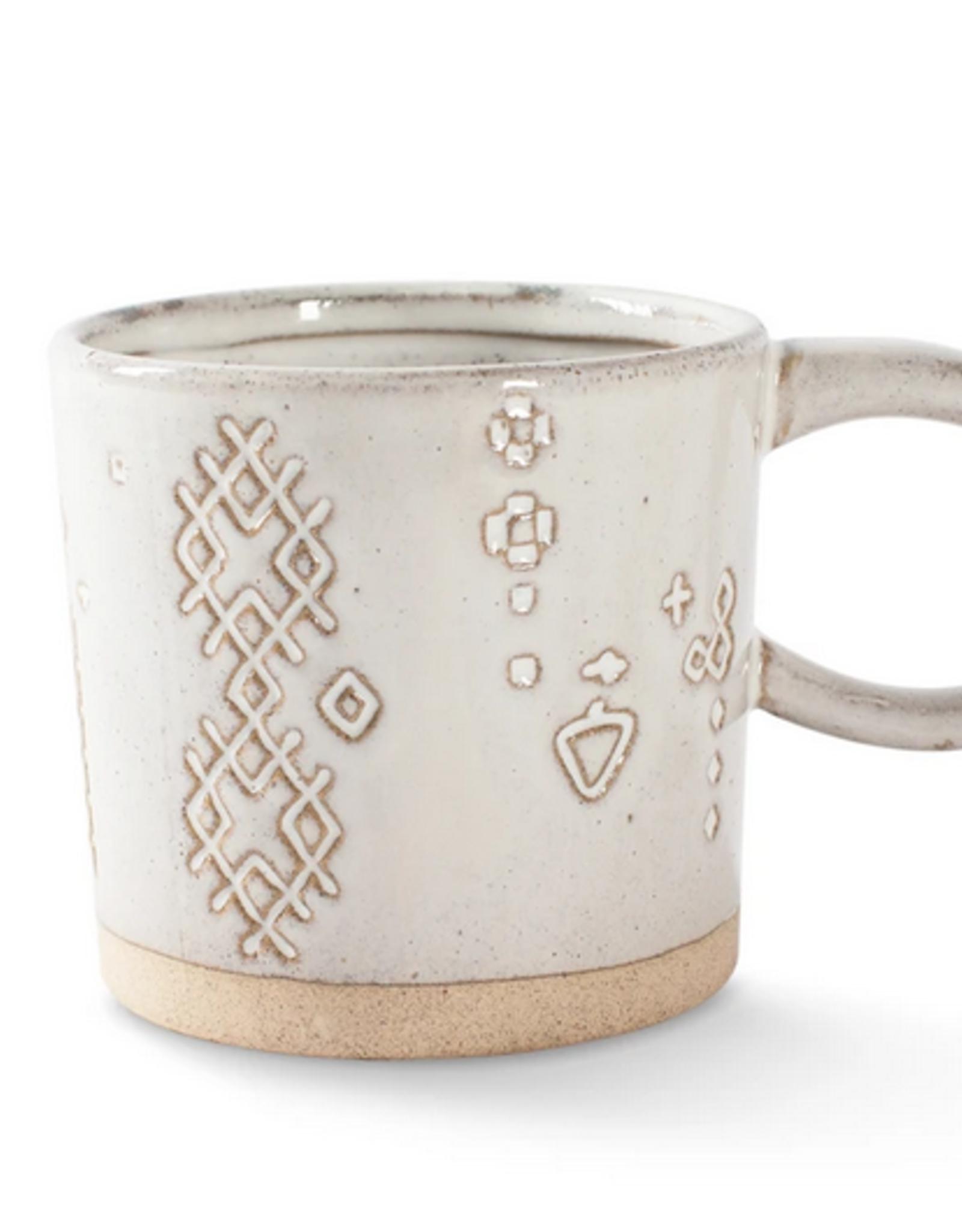 Marks White Artisan Mug
