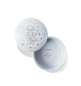 "Scorpio Sparkling Ceramic Trinket Box 3.375"" x 2"""