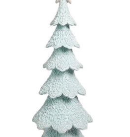 Blue Gingerbread Tree