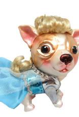 Glass Chihuahua Princess Elsa