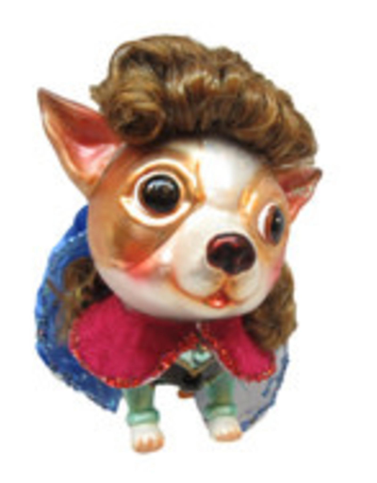Dog as Princess Anna
