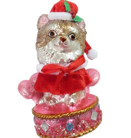 Kitten on Bed Ornament