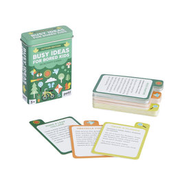 Busy Ideas for Bored Kids Outdoor Edition Cards