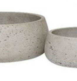 "Small Ro-Cement Bowl D9.5"" H3.5"""
