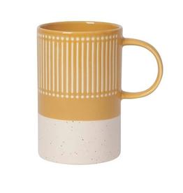 Ochre Etched Mug 14 oz.
