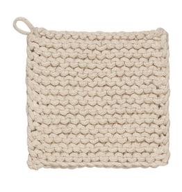 Natural Knit Pot Holder