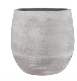 """Grey Victor Pot D19.25"""" H17.75"""""""