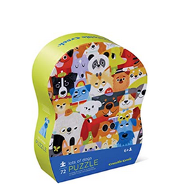 Lots of Dogs Puzzle 72 piece