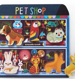 Pet Shop Wood Puzzle 6 piece