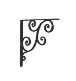 "Small Rustic Shelf Bracket 5.5"""