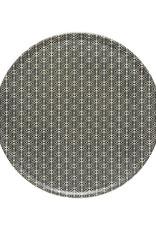 "Augusta Diamond Weave Appetizer Plate D6.5"""