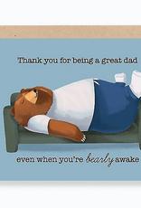 Bearly Awake Card