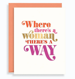 Where There's A Woman Card