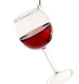 Red Wine Glass Ornament