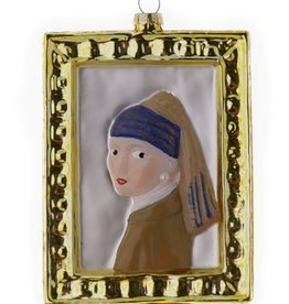 Girl with a Pearl Earring Painting Ornament