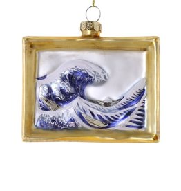 The Wave Painting Ornament