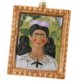 Self Portrait with Thorn Necklace Ornament