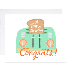 A Toast For You Card