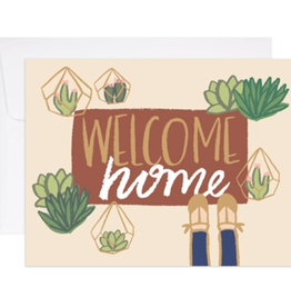 Welcome Home Mat Card