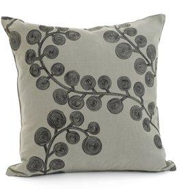 """Black Humera Pillow 17x17"""""""
