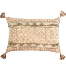 """Dusty Rose Sierra Pillow L16"""" W24"""""""