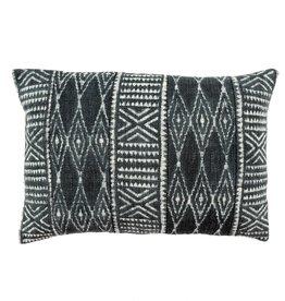 """Indigo Dabu Pillow L16"""" W24"""""""