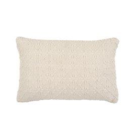 "Amie Jacquard Pillow L16"" W24"""