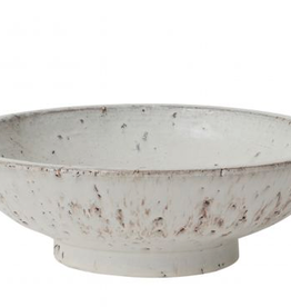 """Large Divvy Footed Bowl D12"""" H3.75"""""""