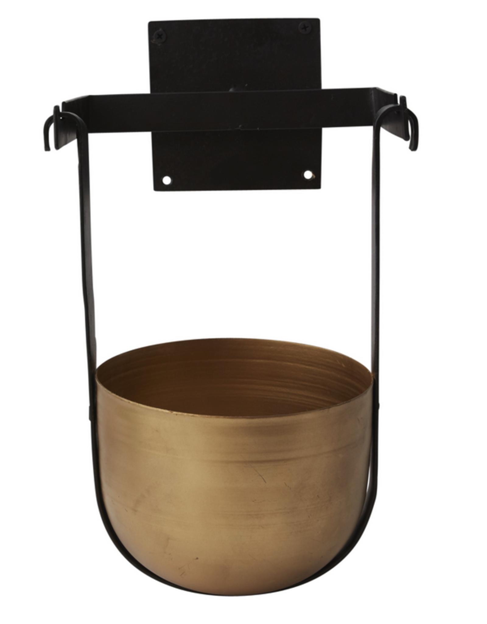 "Small Benton Hanging Pot W9.5"" L8.25"" H13"""