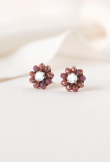 Forget Me Not Stud Earrings - Lilac
