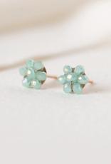 Posy Stud Earrings - Mint