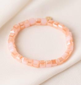 Dawn Stretch Bracelet - Sunset Pink