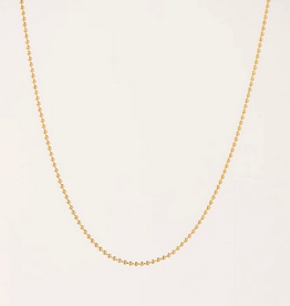Ball Chain Necklace - Gold