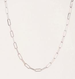 Boyfriend Chain Necklace - Silver