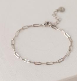Boyfriend Chain Bracelet - Silver