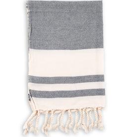 Navy Classic Turkish Hand Towel
