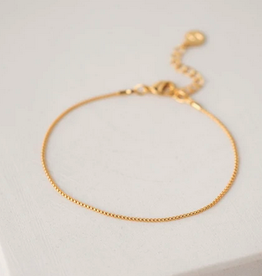 Box Chain Bracelet - Gold