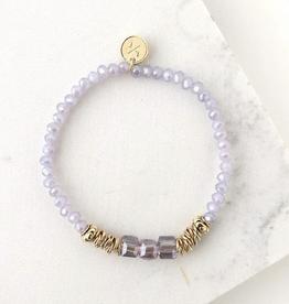 Marilla Stretch Bracelet - Lavender