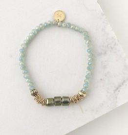 Marilla Stretch Bracelet - Mint